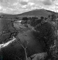 Fishing, River Wharfe, Kilnsey Crag